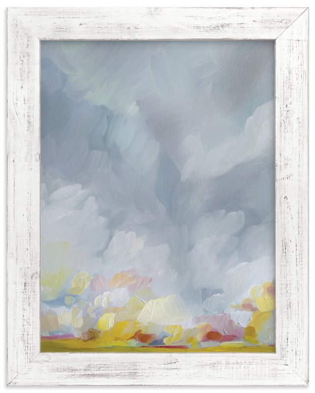 """Grace in the Winds"" - Art Print by Emily Jeffords in beautiful frame options and a variety of sizes."