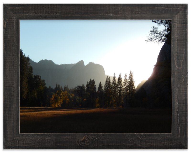"""""""Yosemite Sunset"""" - Art Print by Jan Kessel in beautiful frame options and a variety of sizes."""