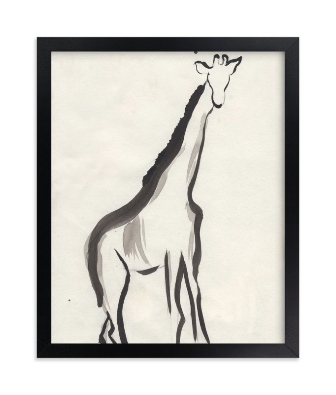 """""""Once upon a gaze"""" - Art Print by Shawni Hogan in beautiful frame options and a variety of sizes."""