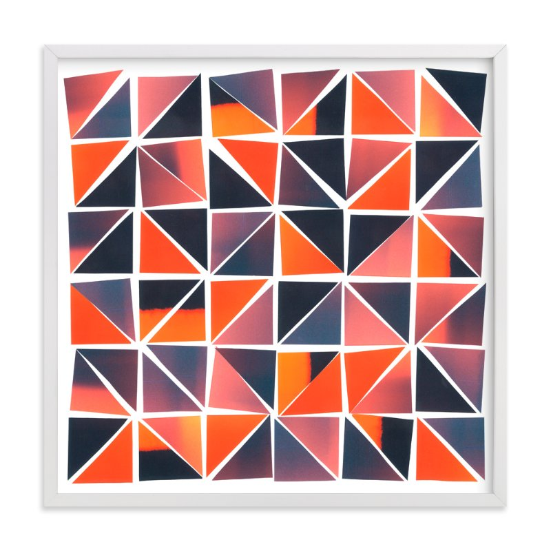 """Sunset Mosaic"" - Art Print by Josh McClendon in beautiful frame options and a variety of sizes."
