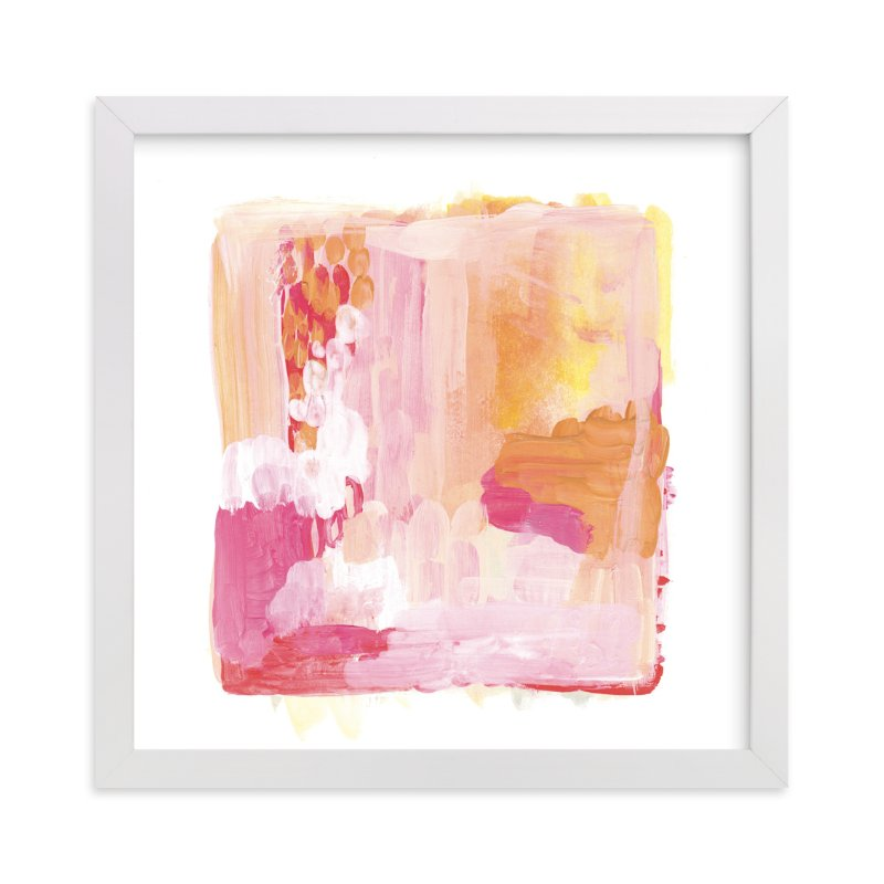 """""""Paint Study Sunset"""" - Art Print by Alethea and Ruth in beautiful frame options and a variety of sizes."""