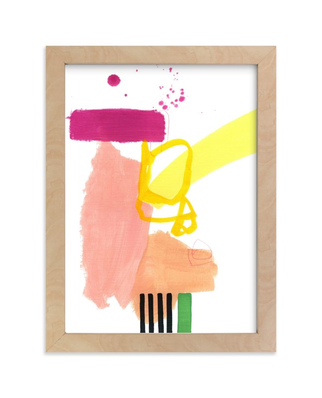 """Composition 4"" - Art Print by Jaime Derringer in beautiful frame options and a variety of sizes."
