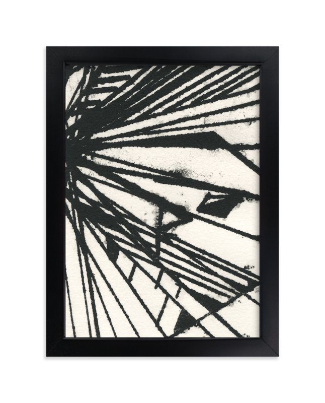 """""""Ink Shard Series 1"""" - Art Print by Angela Simeone in beautiful frame options and a variety of sizes."""