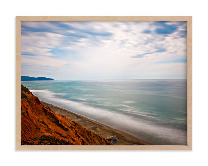 """""""Pacific Ocean 2"""" - Art Print by NSMARK in beautiful frame options and a variety of sizes."""