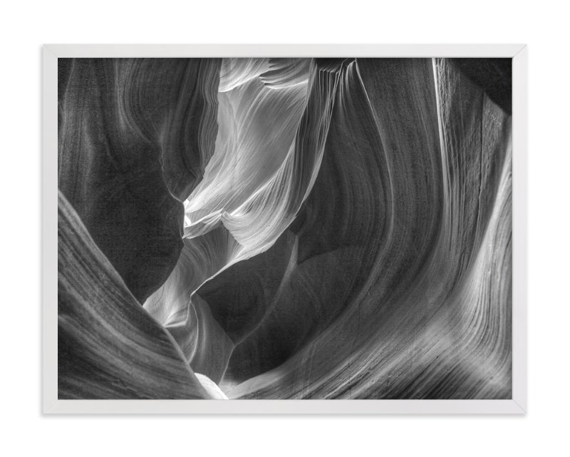 """impression of water 5"" - Art Print by Lynn Fyffe in beautiful frame options and a variety of sizes."
