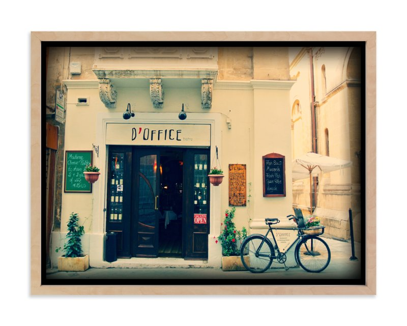 """D'Office - Malta"" - Art Print by Jade Tran in beautiful frame options and a variety of sizes."