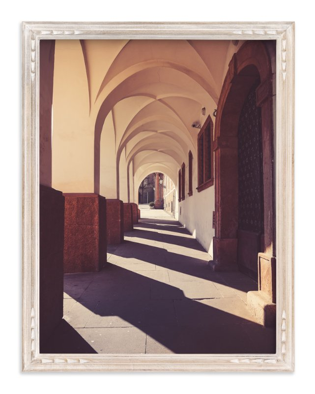 """""""Traveling Tunnel"""" - Art Print by Heather Squance in beautiful frame options and a variety of sizes."""