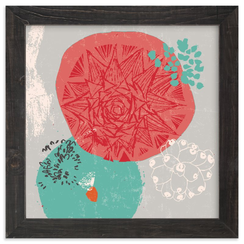 """Desert Frost"" - Art Print by Victoria Johnson in beautiful frame options and a variety of sizes."