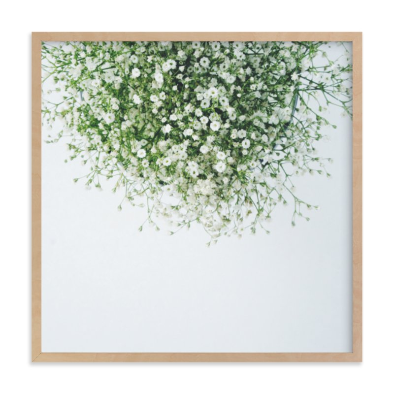 """""""Gypsophila"""" - Art Print by Marabou Design in beautiful frame options and a variety of sizes."""