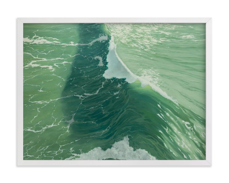 """Salinity Now"" - Art Print by Denny Holland in beautiful frame options and a variety of sizes."