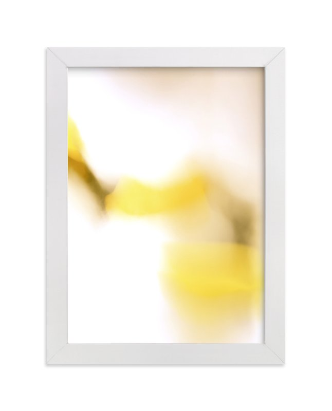 """Yellow Connection"" - Art Print by Lisa Sundin in beautiful frame options and a variety of sizes."