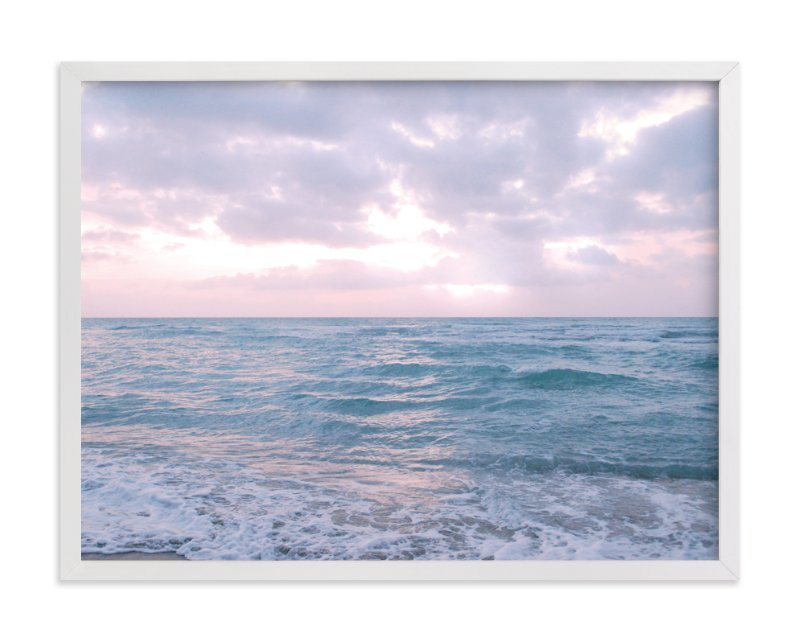 """Moody Atlantic"" - Limited Edition Art Print by Kate Ross in beautiful frame options and a variety of sizes."