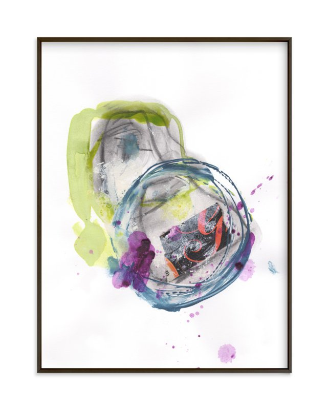 """""""Silly Notion"""" - Art Print by Misty Hughes in beautiful frame options and a variety of sizes."""