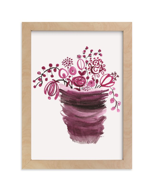 """""""It´s a new day 2"""" - Art Print by Bethania Lima in beautiful frame options and a variety of sizes."""