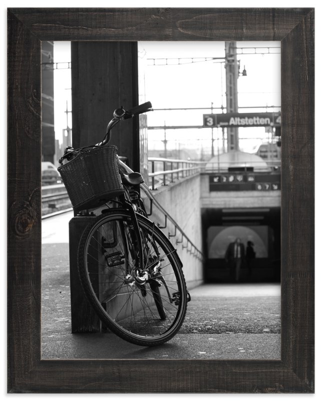 Lonely Bicycle Wall Art Prints By Teng Wang Minted