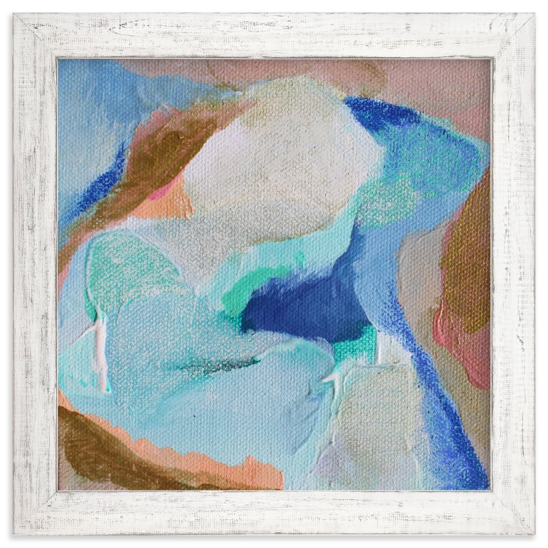 """""""Ocean Series """" - Art Print by Art by Megan in beautiful frame options and a variety of sizes."""