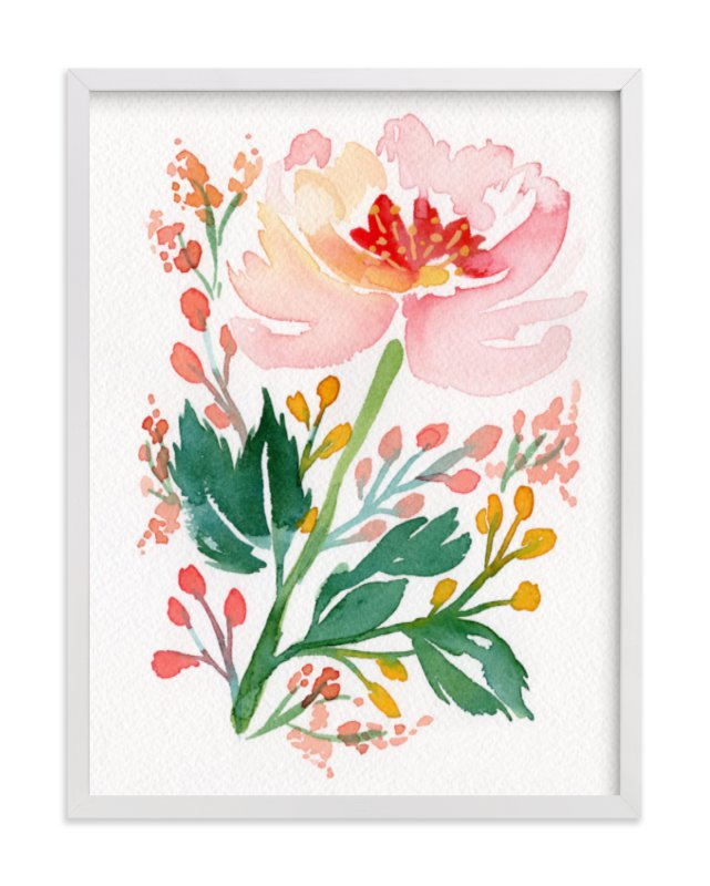 """Springtime in Marseilles"" - Art Print by Natalie Malan in beautiful frame options and a variety of sizes."