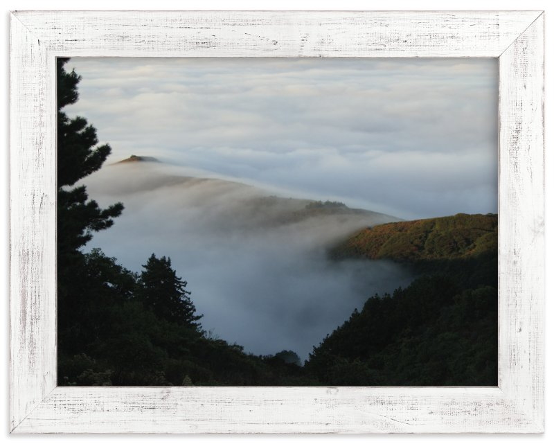 """Deer Point Fog"" - Art Print by Jan Kessel in beautiful frame options and a variety of sizes."