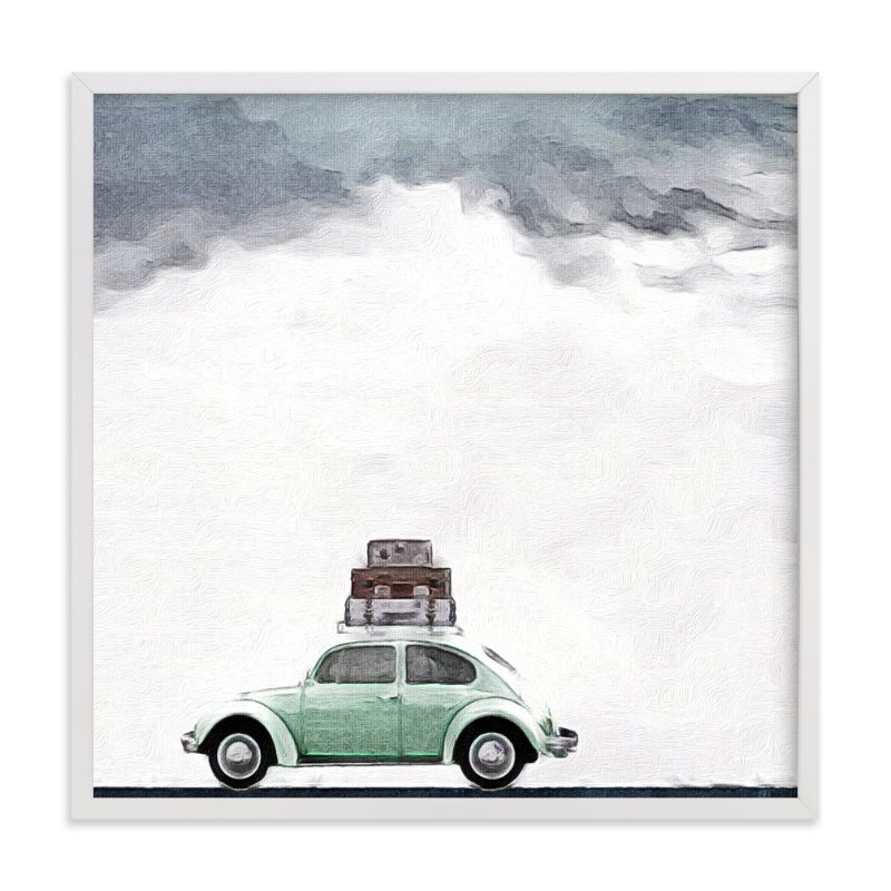 """""""Jupiter Adieu"""" - Art Print by Maja Cunningham in beautiful frame options and a variety of sizes."""