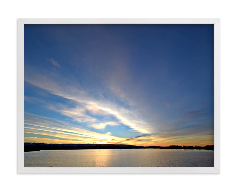 """Sunset 101"" - Art Print by NSMARK in beautiful frame options and a variety of sizes."