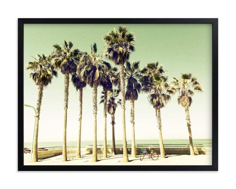 """Pacific Beach"" - Art Print by Michelee Scott in beautiful frame options and a variety of sizes."