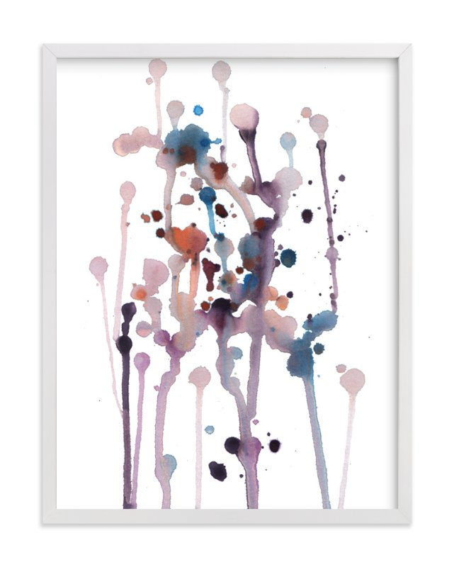 """flowing spots"" - Art Print by aticnomar in beautiful frame options and a variety of sizes."