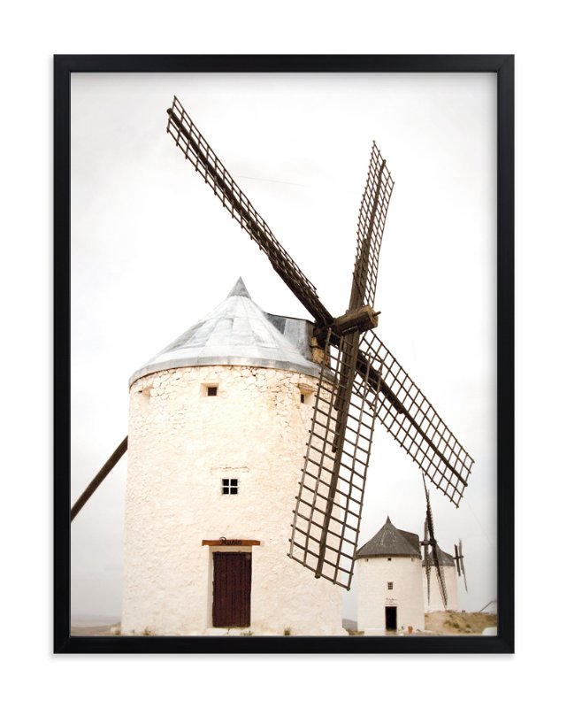 """Consuegra"" - Art Print by Sharon Rowan in beautiful frame options and a variety of sizes."