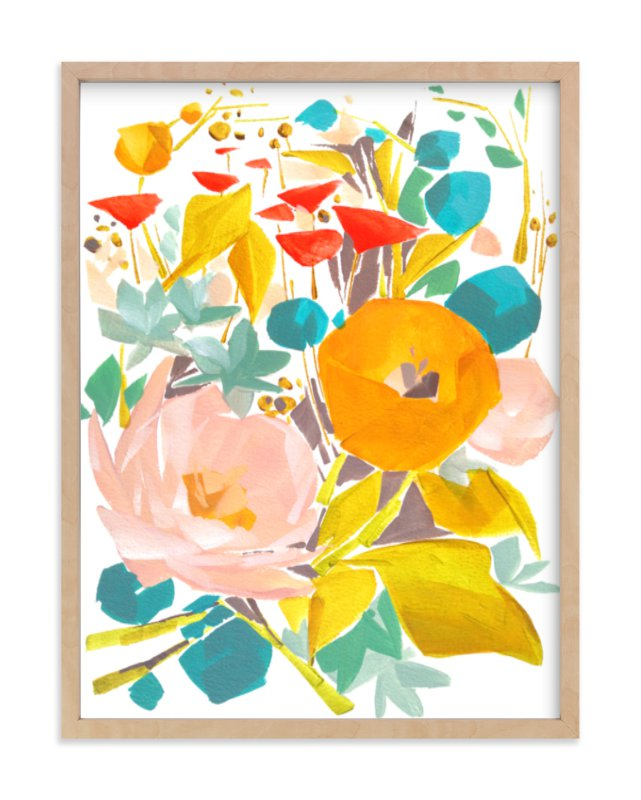 """Upward"" - Art Print by Jess Franks in beautiful frame options and a variety of sizes."