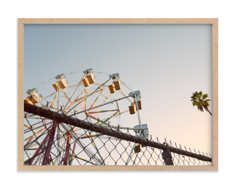 """LA Sky"" - Art Print by Alexandra Nazari in beautiful frame options and a variety of sizes."