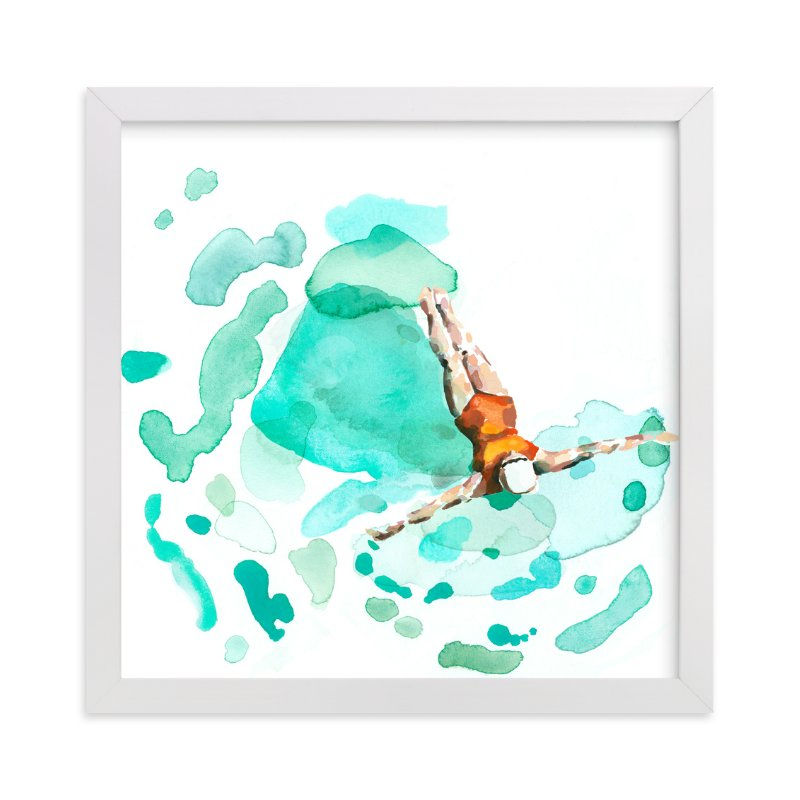 """Float"" - Art Print by Betty Hatchett in beautiful frame options and a variety of sizes."