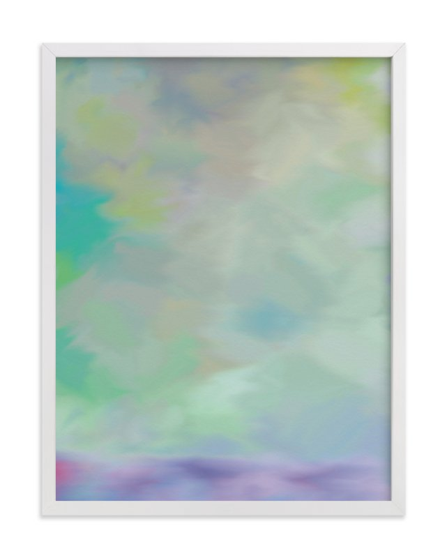 """""""Purple Mist"""" - Art Print by Amy Hall in beautiful frame options and a variety of sizes."""