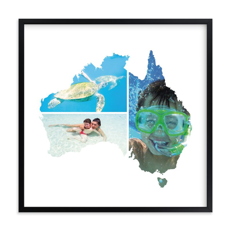 """Australia Love Location "" - Custom Photo Art Print by Heather Buchma in beautiful frame options and a variety of sizes."