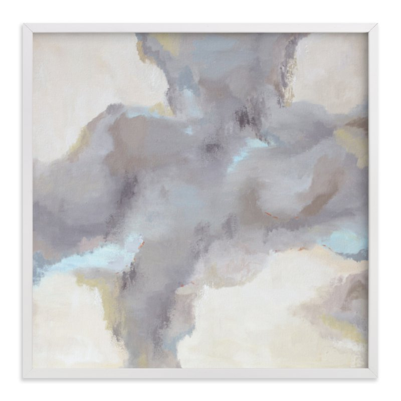 """""""Cloud View"""" - Art Print by Owen Design Studio in beautiful frame options and a variety of sizes."""