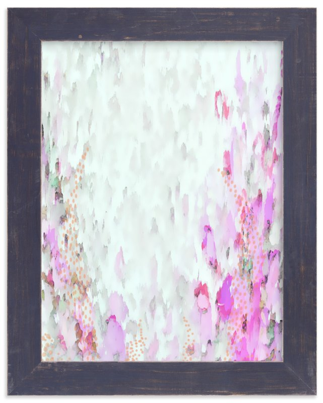"""Wisteria"" - Art Print by Grace Kreinbrink in beautiful frame options and a variety of sizes."