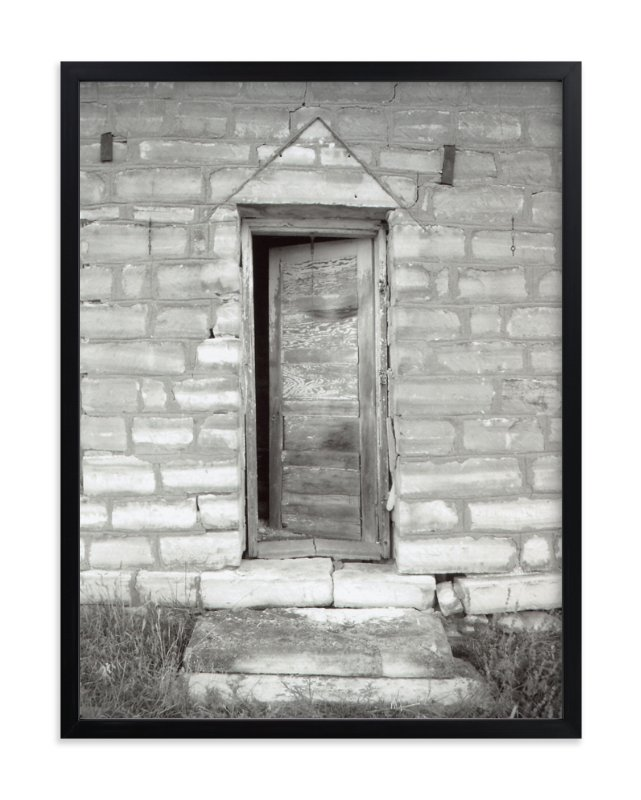 """Stone Entrance"" - Art Print by Eric Eikenbary in beautiful frame options and a variety of sizes."