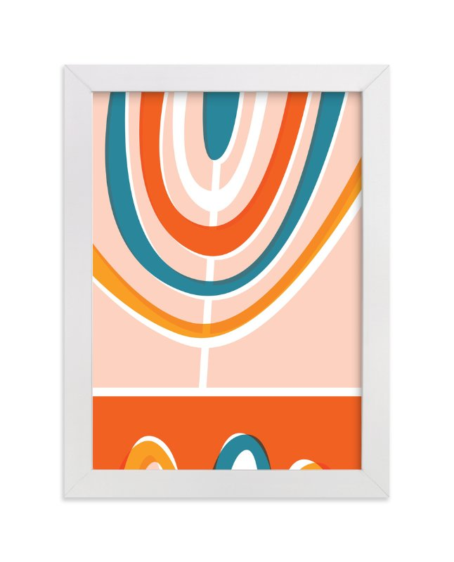 """""""Daybreak"""" - Art Print by Oscar & Emma in beautiful frame options and a variety of sizes."""