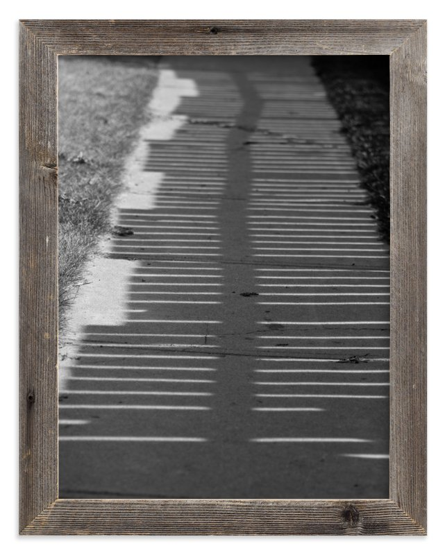 """""""shadow walk"""" - Art Print by Ardell McLennan in beautiful frame options and a variety of sizes."""