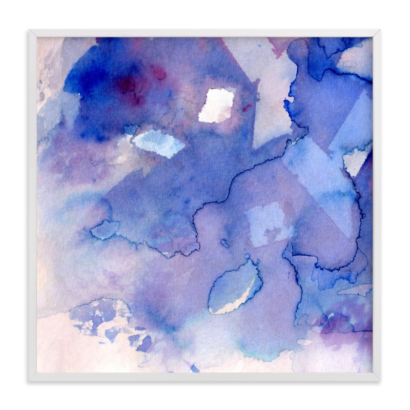 """Sky Fields 3"" - Art Print by Me Amelia in beautiful frame options and a variety of sizes."