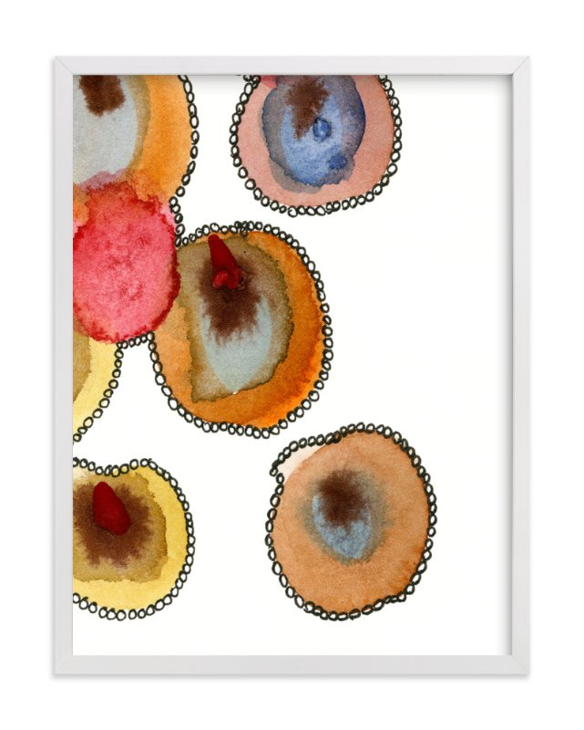 """Fantastic Orbs 4"" - Art Print by Me Amelia in beautiful frame options and a variety of sizes."