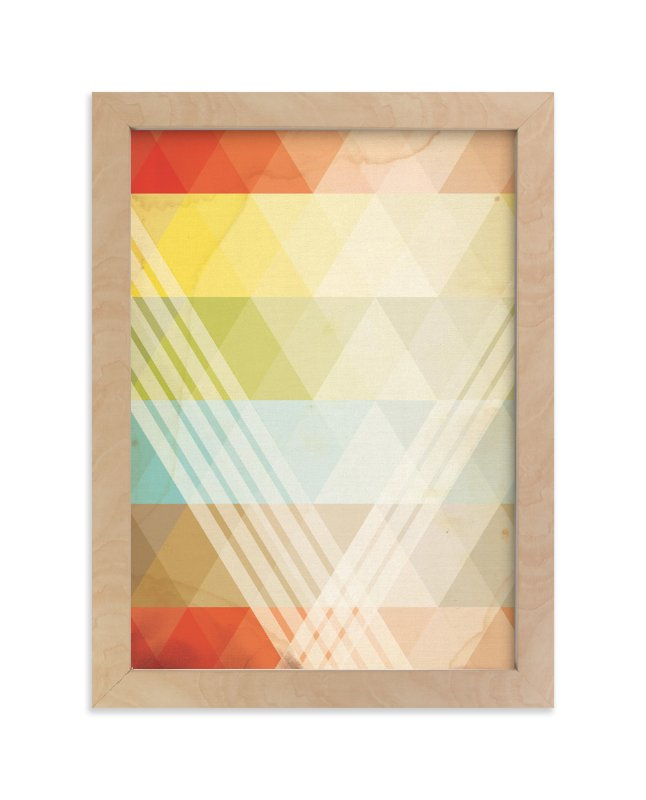 """Intersection"" - Art Print by Jennifer Morehead in beautiful frame options and a variety of sizes."