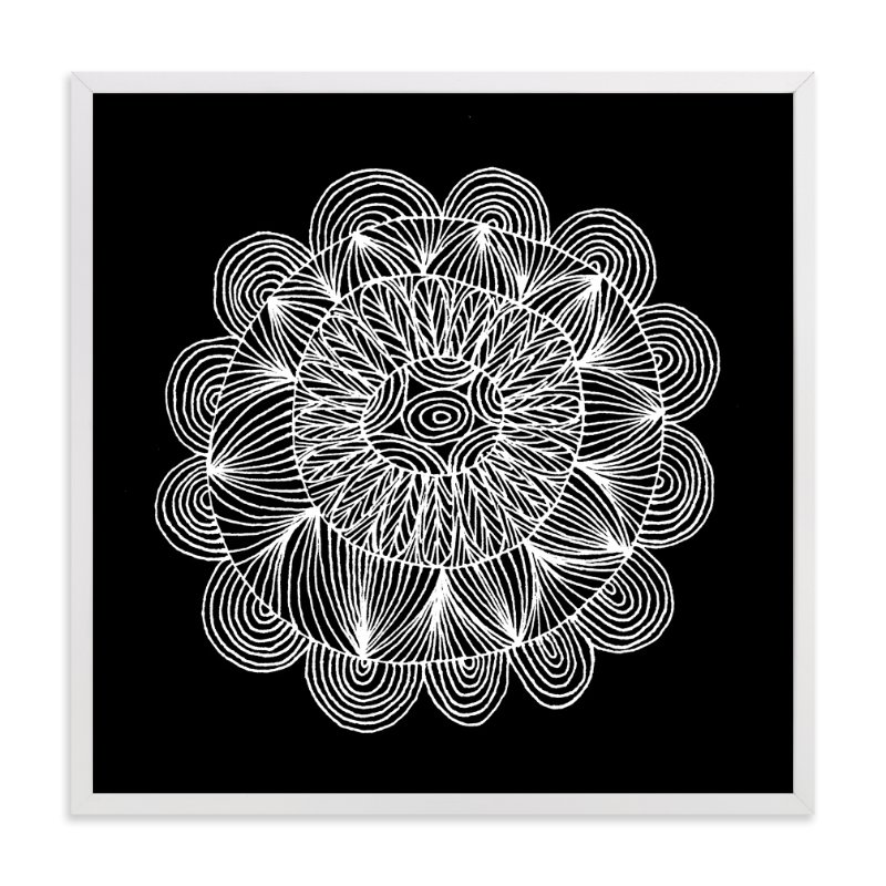 """""""irregular leaves8"""" - Art Print by aticnomar in beautiful frame options and a variety of sizes."""