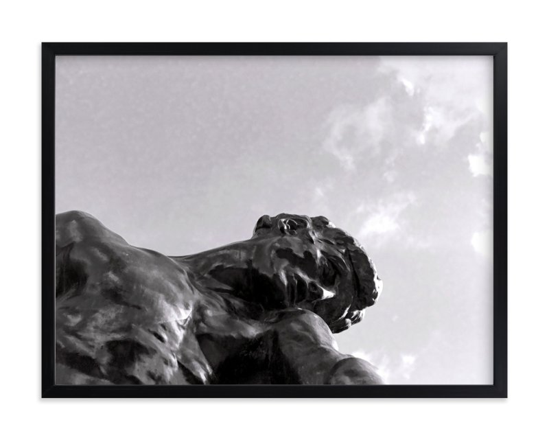 """""""Rodin's Sky"""" - Art Print by Jill Fisher in beautiful frame options and a variety of sizes."""