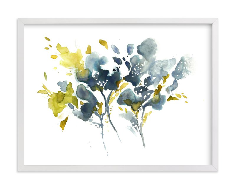 """Embracing Silence"" - Art Print by Mya Bessette in beautiful frame options and a variety of sizes."