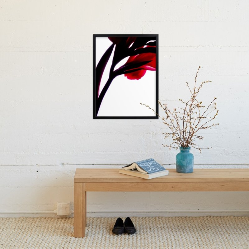 """Canna 3"" - Art Print by Masaaki Saji in beautiful frame options and a variety of sizes."