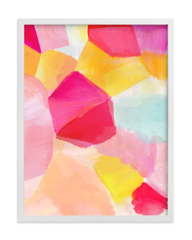 """""""Fragment 2"""" - Art Print by Hooray Creative in beautiful frame options and a variety of sizes."""