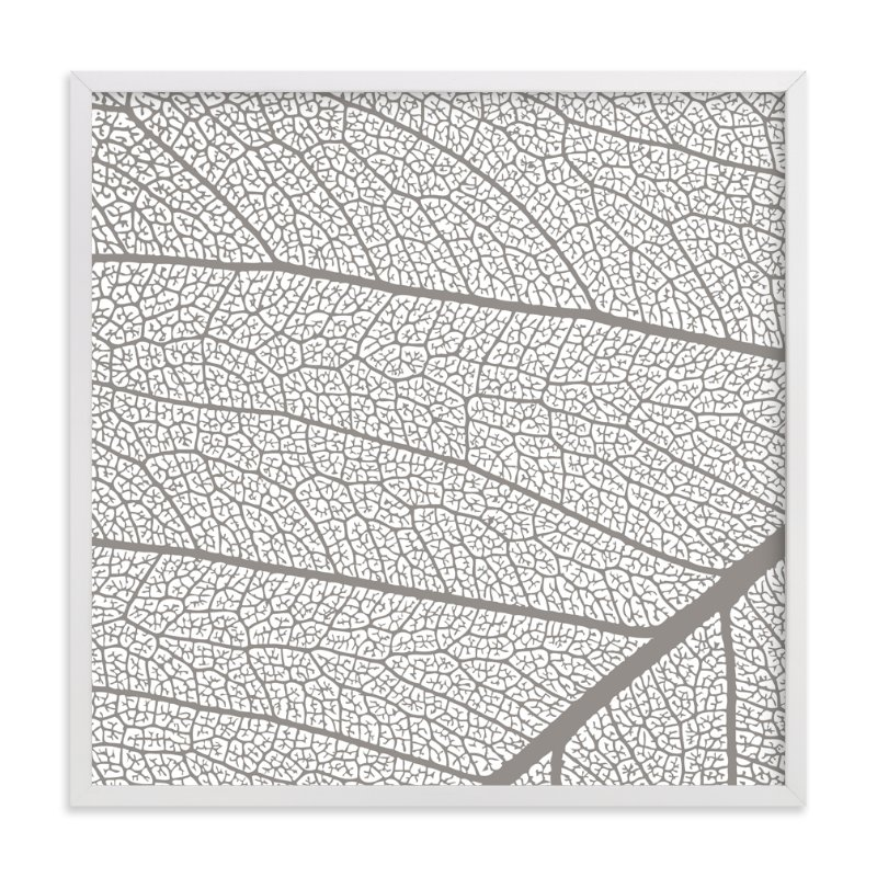 """""""Leaf"""" - Art Print by Stellax Creative in beautiful frame options and a variety of sizes."""
