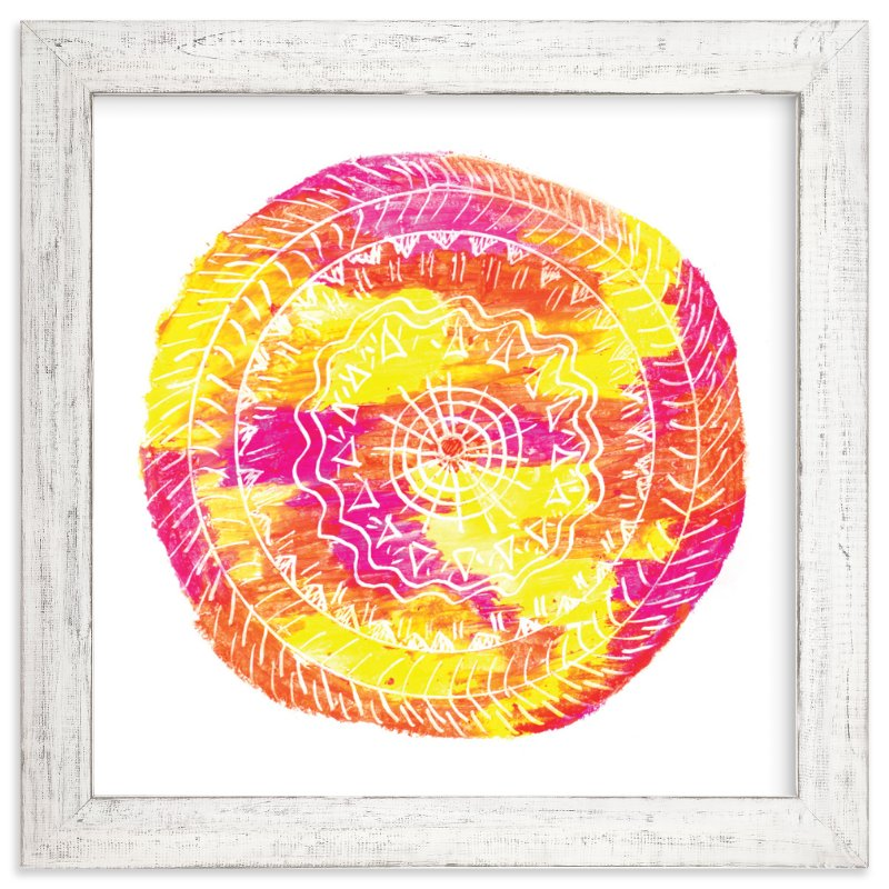 """""""Sun-Fire"""" - Art Print by Kanika Mathur in beautiful frame options and a variety of sizes."""
