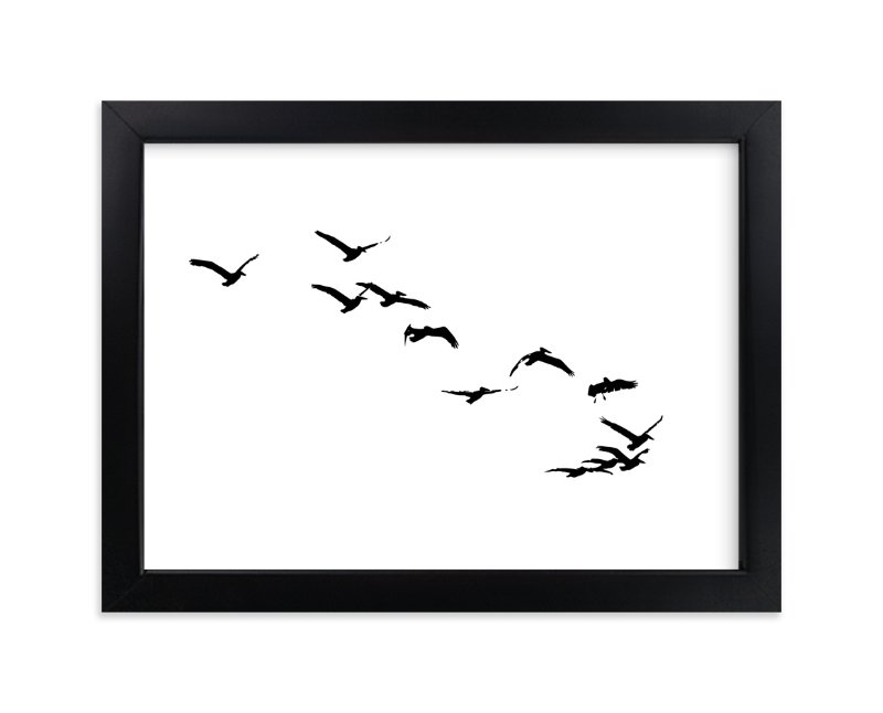 """Landing"" - Art Print by Neeta Sawhney in beautiful frame options and a variety of sizes."