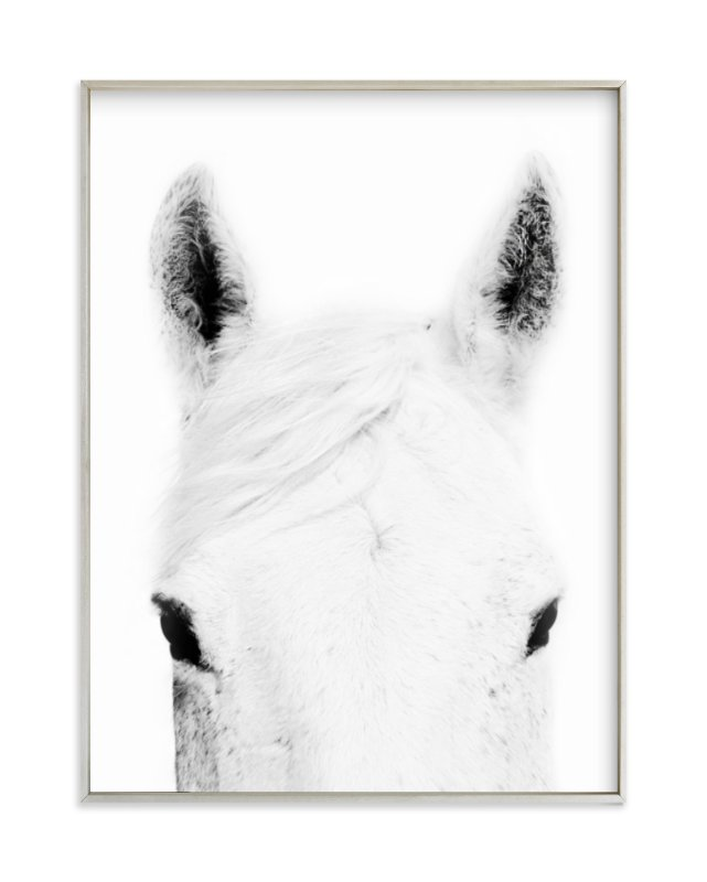 """Snow Ready"" - Art Print by Robin Ott in beautiful frame options and a variety of sizes."