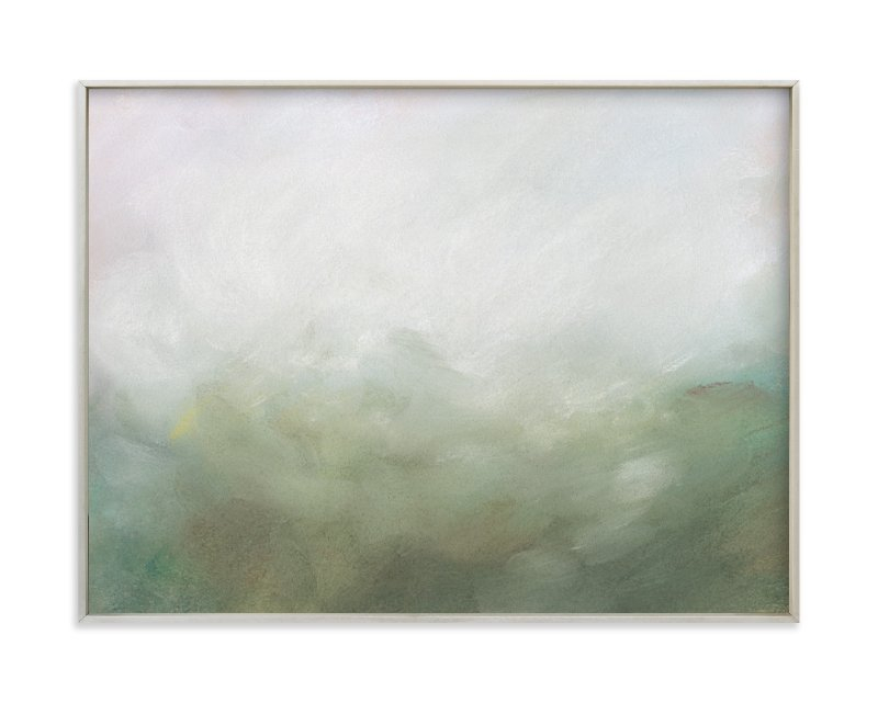 """Morning Mist"" - Art Print by Lorent and Leif in beautiful frame options and a variety of sizes."